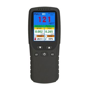 PM1.0 PM10 TVOC TEMP HUM AQI Multi Test Data for Indoor Outdoor Car