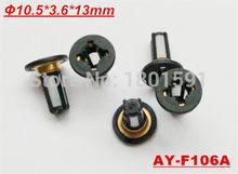 10 pçs venda quente no mercado de acessórios injector de combustível micro filtro 13*10.5*3.6mm para carros honda injector de combustível kits de reparação (AY-F106A)