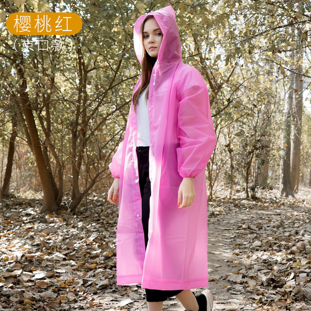 Impermeable Raincoat Coat Women Travel Waterproof Motorcycle Men Rain Coat Blouse Jetable Reusable Lightweight Poncho MM60YY