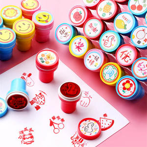 Stamp Kids Scrapbooking-Accessories Printing-Set Early-Educational-Toys Gifts Child Cartoon