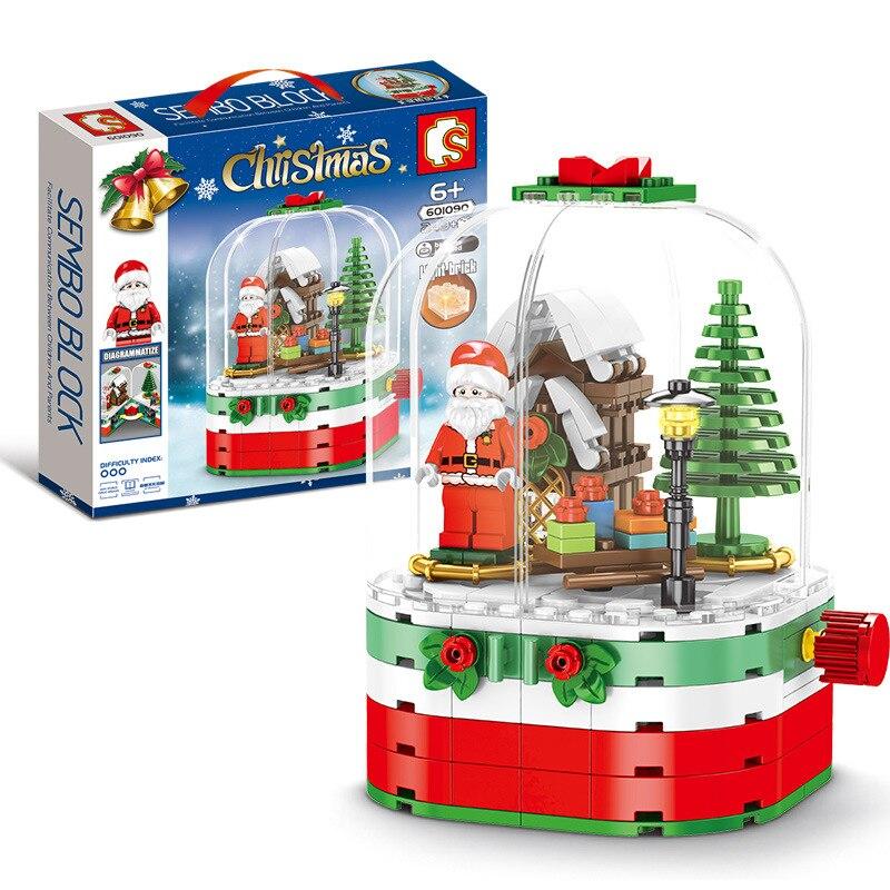 2019 novo criativo legoignlys cidade blocos de construção brinquedos para crianças 6 anos diy presente natal série tema pequeno tijolo 601090