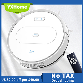 robot vacuum cleaner phoreal fr 601 110 240v vacuum cleaner for home 1000 pa suction vacuum cleaner wet and dry and mopping 2800Pa Smart Sweeping Robot Vacuum Cleaner For Home Wireless Dry & Wet & Mop Cyclone Suction Planned To Clean Vacuum Cleaner