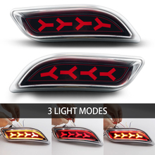 Auto Spare Parts Rear Fog Lamp Brake Light LED Tail Light SUV 4WD Sedan Cars for lada priora стоимость