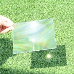 100x100mm optique PMMA plastique solaire Fresnel lentille focale 50 55 90mm concentrateur d'énergie solaire pour projecteur de bricolage