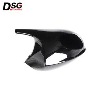 Image 5 - ABS Gloss Black Rear View Mirror Caps For BMW 3 Series E90 E91 05 07 & E90 E92 06 09 Replacement Cover E81 E82 E87 E88 pre LCI