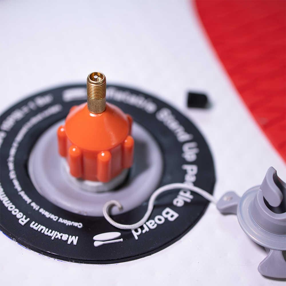 Heytur Inflatable Boat SUP Pump Adaptor Standard Schrader Conventional Air Pump Air Valve Adapter Spoke Plate Attachment