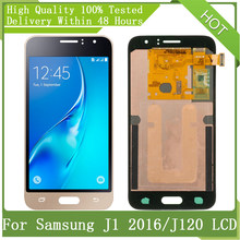 "For SAMSUNG Galaxy 4.5"" Super AMOLED J1 2016 J120 J120F J120M J120H J120F/DS LCD Display Touch Screen Digitizer Assembly Pack"