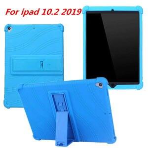 Чехол для Apple iPad 10,2, чехол 2019 A2197 A2200 A2198 A2232, задняя крышка планшета, чехол, противоударный резиновый чехол, защитный чехол