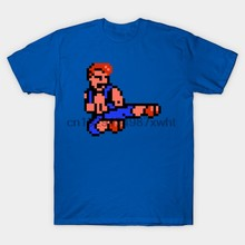 Mannen T-shirt Oude School Games Double Dragon T-shirt Vrouwen T-shirt(China)