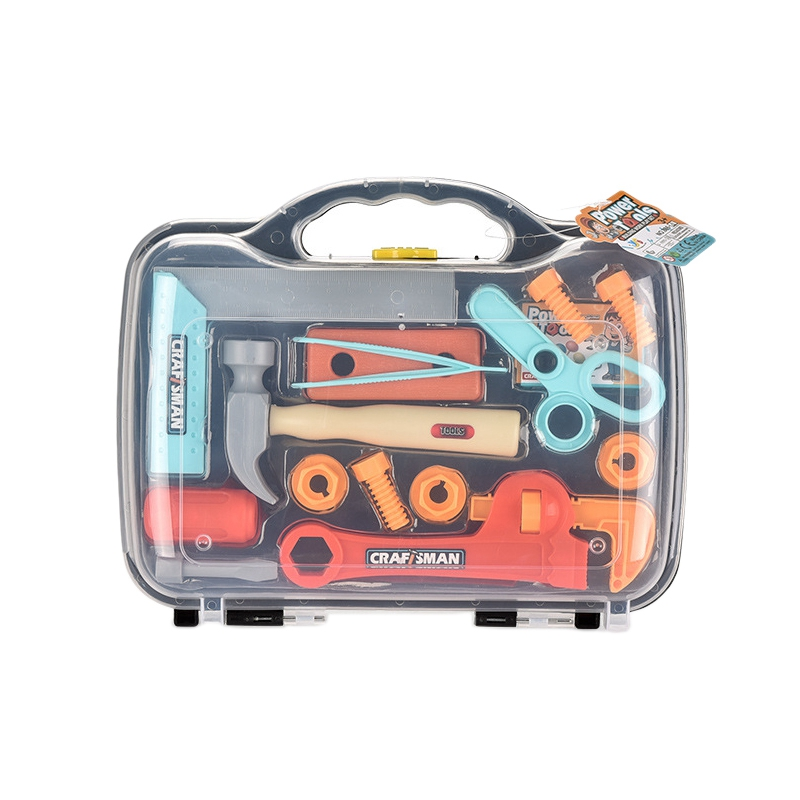 Kids Toy Simulation Tool Box Pretend Play Toy Repair Tool Box for Children Gift