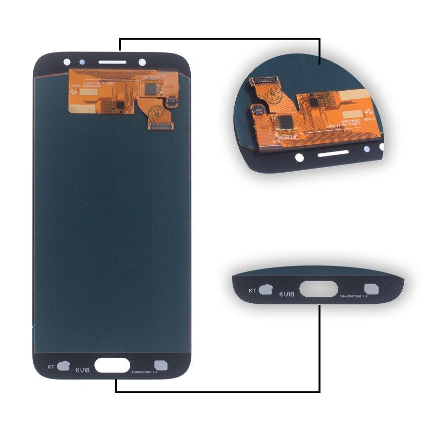 Амолед для SAMSUNG Галактики главе J7 Pro ЖК J7 с 2017 J730 J730F сенсорный экран ЖК-дисплей дигитайзер Ассамблеи для Samsung J7 с J730 Джей 7 про