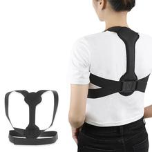 Adjustable Adult Kids Back Posture Corrector Looking up Straight Waist and Abdomen Clavicle Spine Shoulder Lumbar Belt