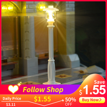 Lego Light Lego LED Light New Lego City Street Light Novelty Light For The House Lego Building Block Lego DIY Toy Novelty Kids lego игрушка нексо аксель абсолютная сила модель 70336