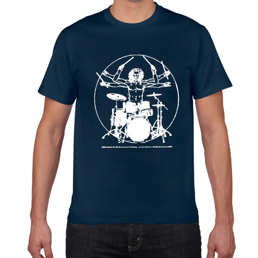 Music Band T-Shirt Funny Novelty Mens tee TShirt Drummers Love To Bang