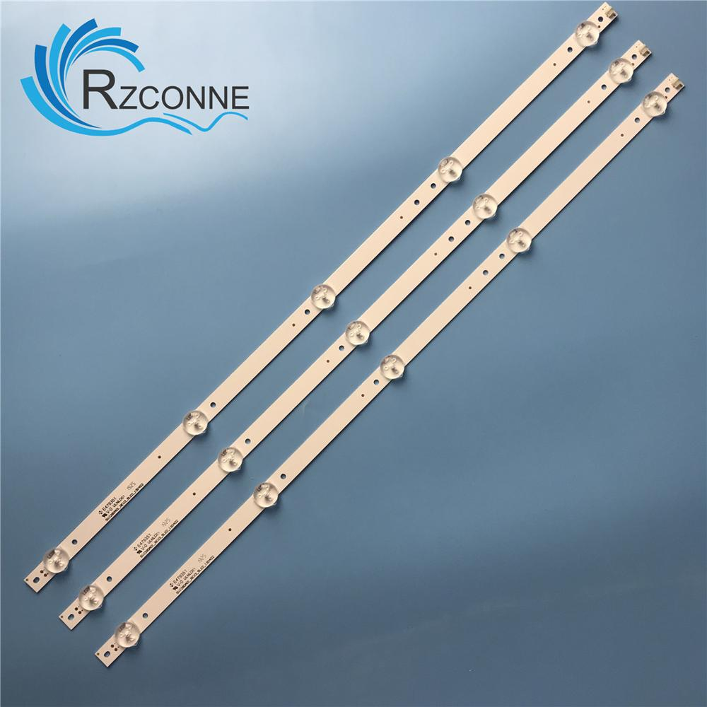 530mm LED Backlight Strip For Proline Bravis 28C2000B 28 Inch TV L2830HD SVJ280A01 REV3 5LED 130402 M280X13-E1-H 2013CH280 13Y