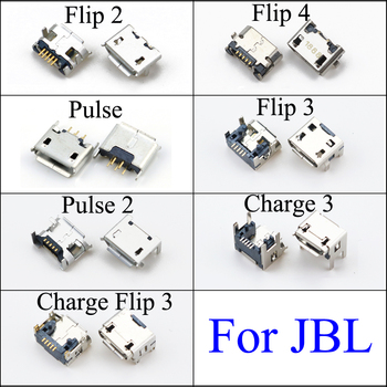 YuXi For JBL FLIP 2 3 4 Pulse 2 Charge 3 Bluetooth Speaker Micro USB Jack Dock Charging Port Charger Connector Power Plug image