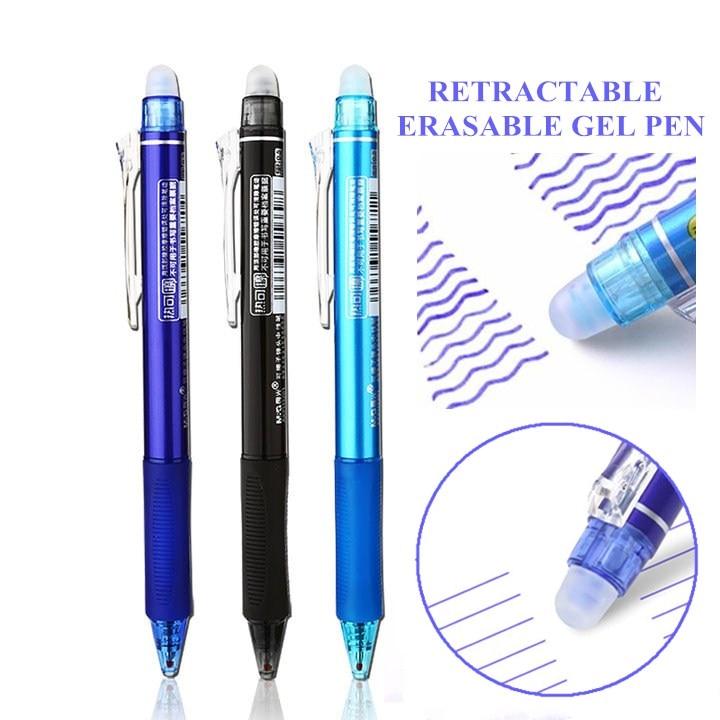 Pilot Frixion Retractable 0.7mm Heat Erasable Multi Purpose Pens Refills Set