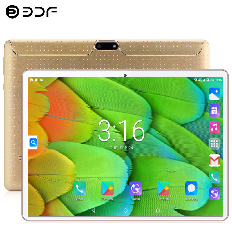 10.1 Inch PC Tablets Android 9.0 3G/4g Phone Call Ten Core 8GB RAM 128GB Dual SIM 8.0MP Bluetooth Wi-Fi Tablet PC+keyboard