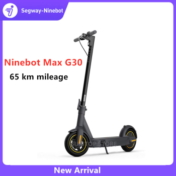 Original Ninebot MAX G30 Kickscooter 30km / h 65km Körsträcka Smart Elektrisk Scooter 10 Fällbar APP Kontroll Hoverboard Skateboard