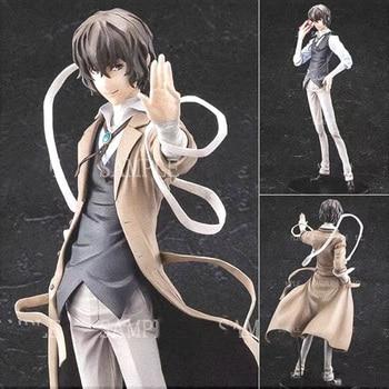 26cm anime Bungou Stray Dogs Dazai Osamu Nendoron OrangeRouge action figure PVC collection model dolls toys for gifts недорого