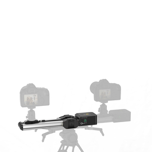 Image 5 - במלאי Zeapon ממונע מיקרו 2 רכבת מחוון נייד אלומיניום סגסוגת עבור DSLR ראי מצלמה w/2easylock 2 נמוך פרופיל הר