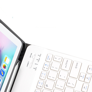 Image 5 - Coque de clavier 10.2 pouces, pour tablette iPad 7, 7e génération, coque 2019 pouces, 9.7, 2017, 2018, Bluetooth sans fil, pour iPad Air 3 2 Pro 10.5