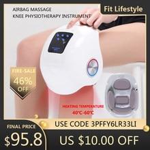 Smart Knee Massage Laser Heated Air Massage Knee Physiotherapy Instrument Knee Massage Rehabilitation Pain Relief Leg Massage