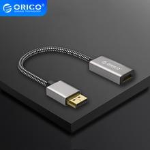 ORICO 4K Displayport erkek DP DVI dişi adaptör ekran portu 1.1 sürüm 1080P 60Hz kablosu dönüştürücü TV dizüstü projektör
