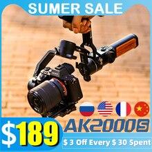 FeiyuTech AK2000S стабилизатор камеры 3-осевой карданный шарнир SLR беззеркальный фотоаппарат ручной подвес для видео подходит для камеры Canon Sony Nikon ...