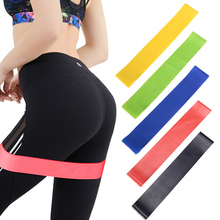 Bands Workout-Equipment Resistance-Bands Strength Fitness Rubber Training Gum Exercise