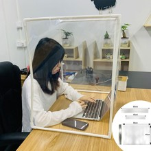 DIY Desk Partition Baffle Screen Anti-spray Transparent Isolation Board Protect Suitable among others as counter display