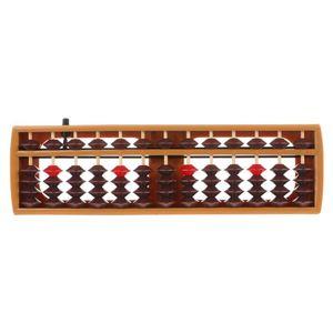 Портативный японский 13 цифр колонны Abacus арифметические счеты соробан какуляции школы математики обучения инструмент Q6PA