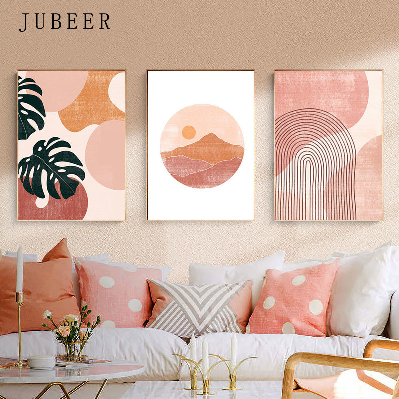Abstract Leaf Bedroom Decoration Pictures Wall Art Landscape Canvas Painting for Living Room Decoration Paintings Wall Decor Art