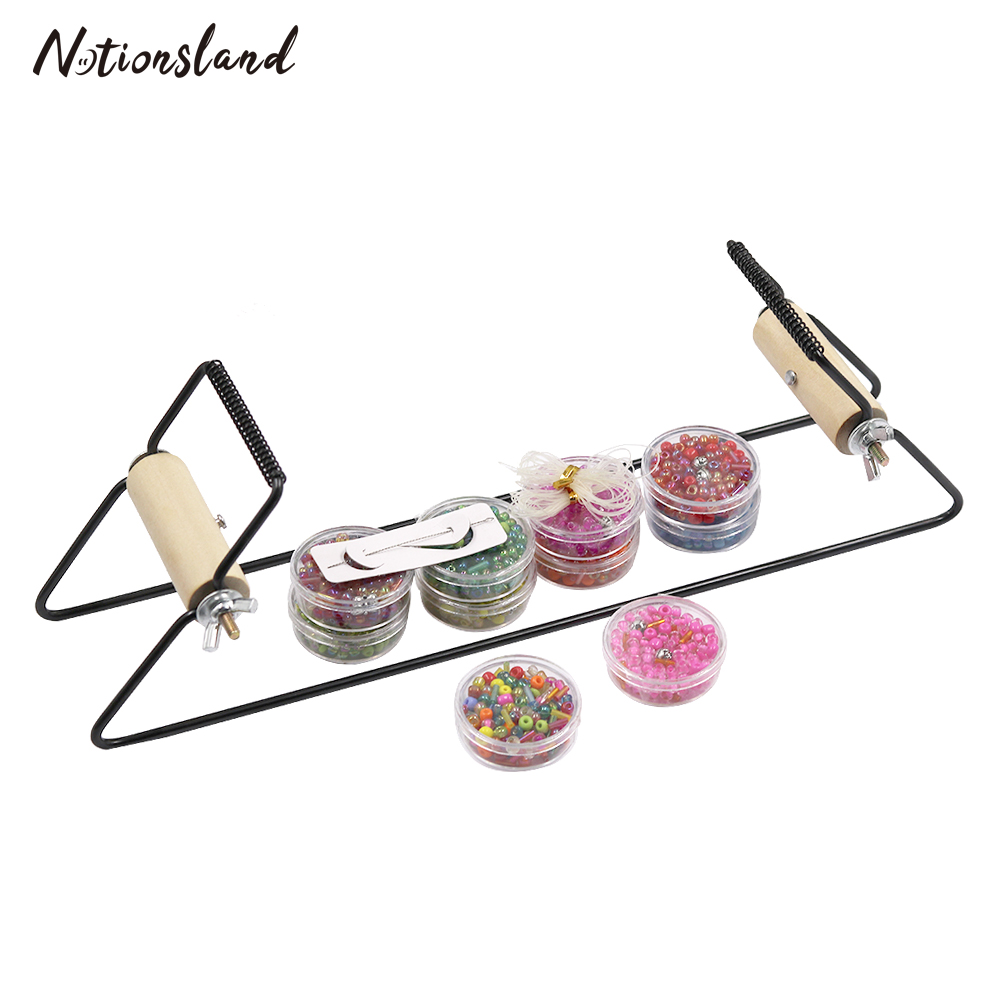 Beading-Loom-Kit Weaving Knitting-Machine Stainless-Steel for Bracelet Jewelry Educational-Toys