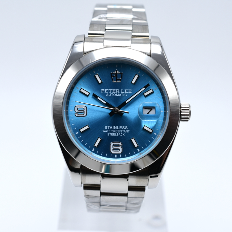H7692f15980544d3280140f272fa43430W WW2 Watch Series | PETER LEE Watches | Top Brand Luxury Day Date 36mm mens mechanical watches digital stainless steel men automatic wrist watch
