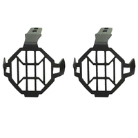 2x Motorcycle Protector Guards Cover Fog Lights Kit For BMW R1200GS F800GS Adventure| |   -