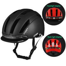 Шлем велосипедный mtb со светодиодным поворотным сигналом умный