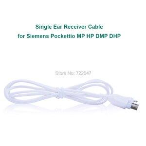 Image 3 - Hörgeräte Zubehör Audio Empfänger und Kabel Für Siemens Tasche Hörgerät Pockettio DMP DHP