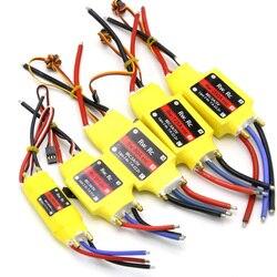 Бесщеточный контроллер скорости UBEC, 1 шт., 2-6S, 30A/50A/80A/100A/200A, ESC, 5 В/3 А, 5 В/5A, UBEC, ESC для радиоуправляемой лодки, UBEC 200A/S