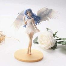 15cm anioł bije Tachibana Kanade śliczne figurka Model z pcv zabawka do dekoracji Anime figurka anioła urodziny prezenty dla dziewczyn