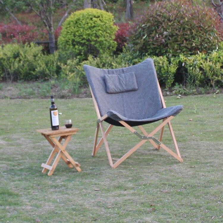 Katlanır Kelebek Sandalye Kumaş Yastık Döşeme Oturma Odası - Mobilya - Fotoğraf 3
