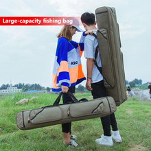 Travel Canvas Fishing Gear Bag Fishing Pole Bag