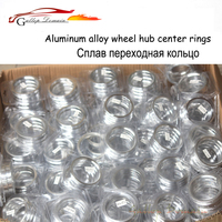 4 teile/lose 67 1 zu 60 1 Hub Centric Ringe OD = 67 1mm ID = 60 1mm Aluminium Rad hub ringe freies Verschiffen Auto-Styling
