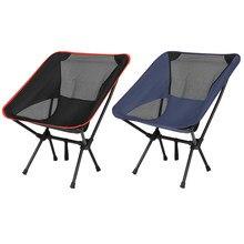 Cadeira de acampamento dobrável ultraleve caminhadas ao ar livre praia piquenique churrasco portátil assento cadeira de pesca móveis