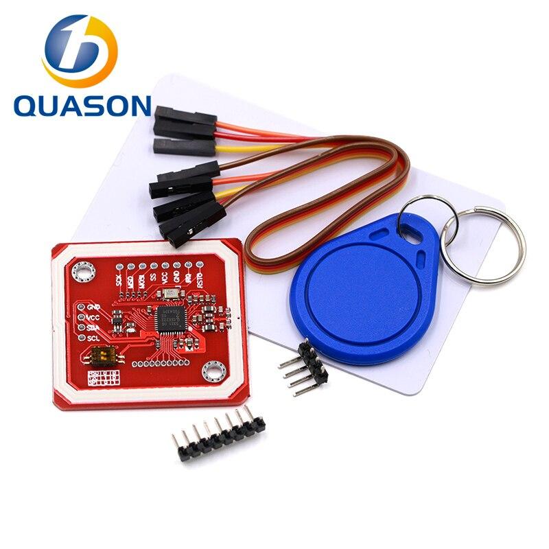 NFC RFID беспроводной модуль PN532, модель V3, устройство чтения записей, IC S50 карта, печатная плата, комплект I2C IIC SPI HSU для Arduino