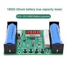 Novo-monitor eletrônico da bateria da carga da descarga digital do mah mwh do verificador da capacidade da bateria de lítio m240 18650