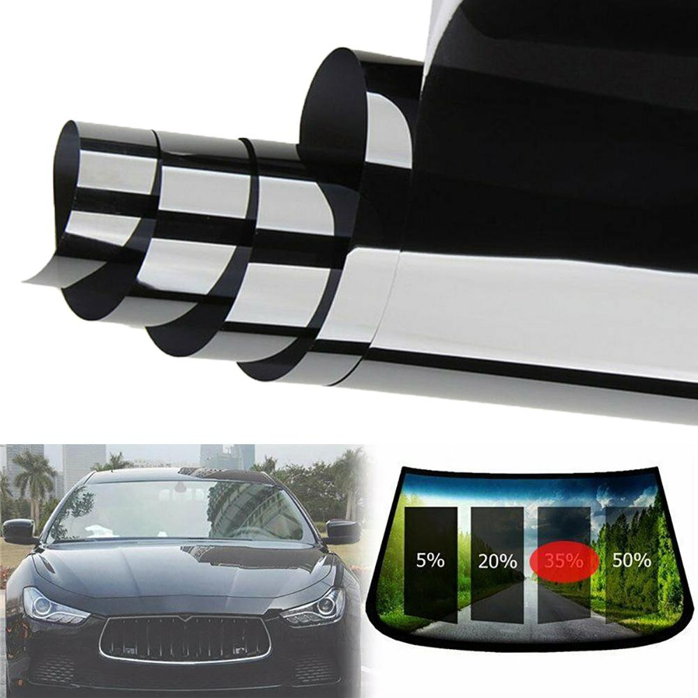 Window Foils 6m Car Vehicle Window Glass Sun Heat Insulation Privacy Protection Tint Film Solar Protection на авто автотовары