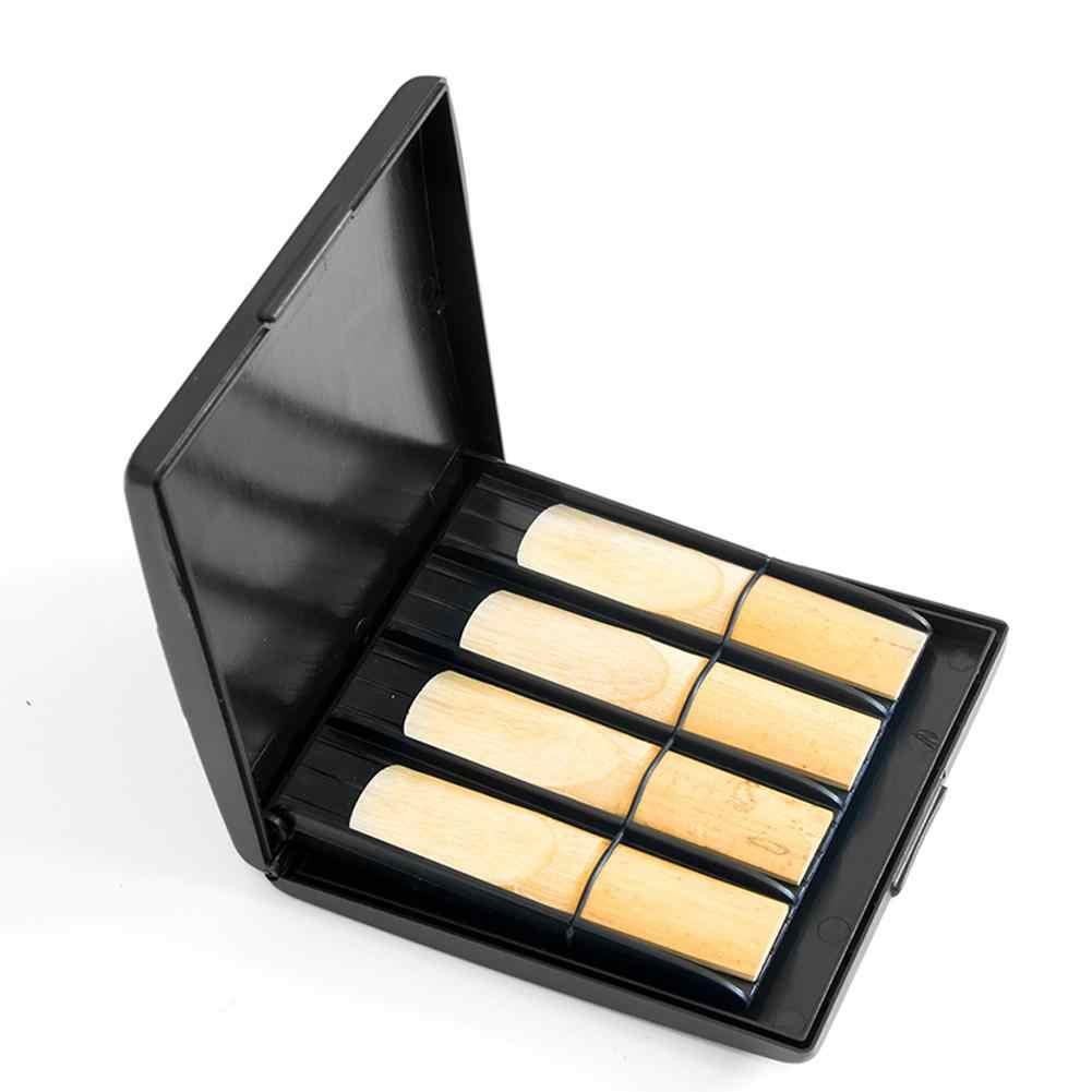 ポータブルサックスリードケースボックス防水収納ボックス 8 グリッドサックスアルト楽器アクセサリーサックスクラリネットオーボエ
