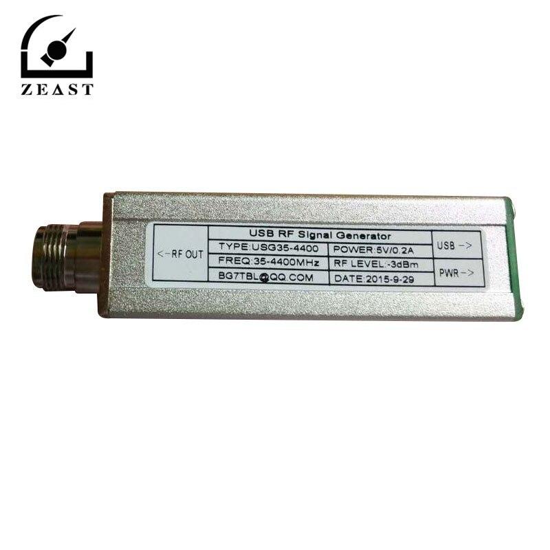 ZEAST USB RF générateur de Signal Source de Signal USG35-4400 35 M-4400 M 4.4G 1G 2G 3G