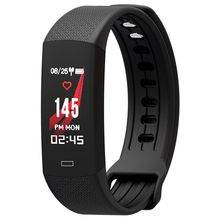 B6 Smart Wristband Fitness Bracelet Tracker Bluetooth Heart Rate Monitor Waterproof Smart Band Watch for IOS Android Phone haiom new wristbands smart band heart rate monitor fitness bracelet w3 waterproof smart band bluetooth for ios android phone